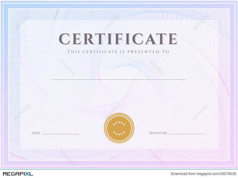 certificate diploma template award pattern