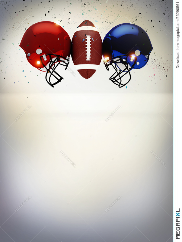 Abstract American Football Background Stock Photo 33290561