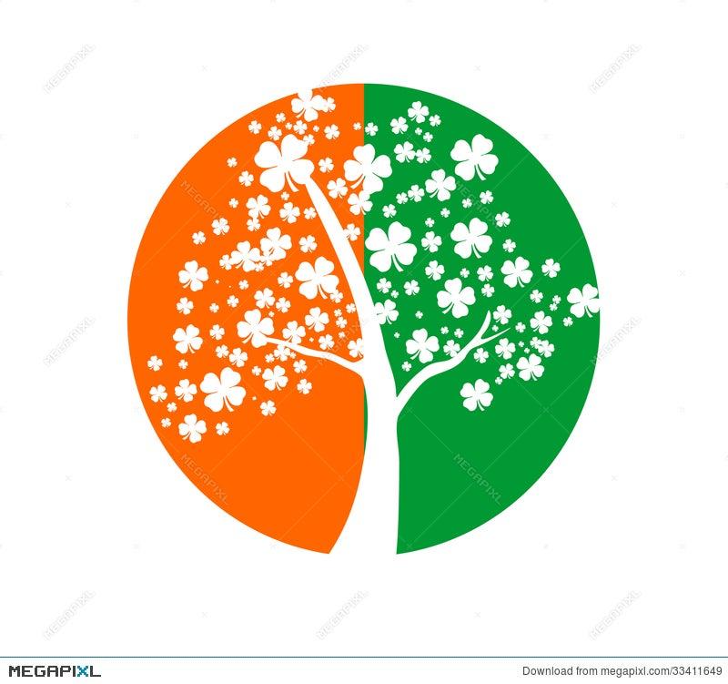 Irish Symbols Illustration 33411649 Megapixl