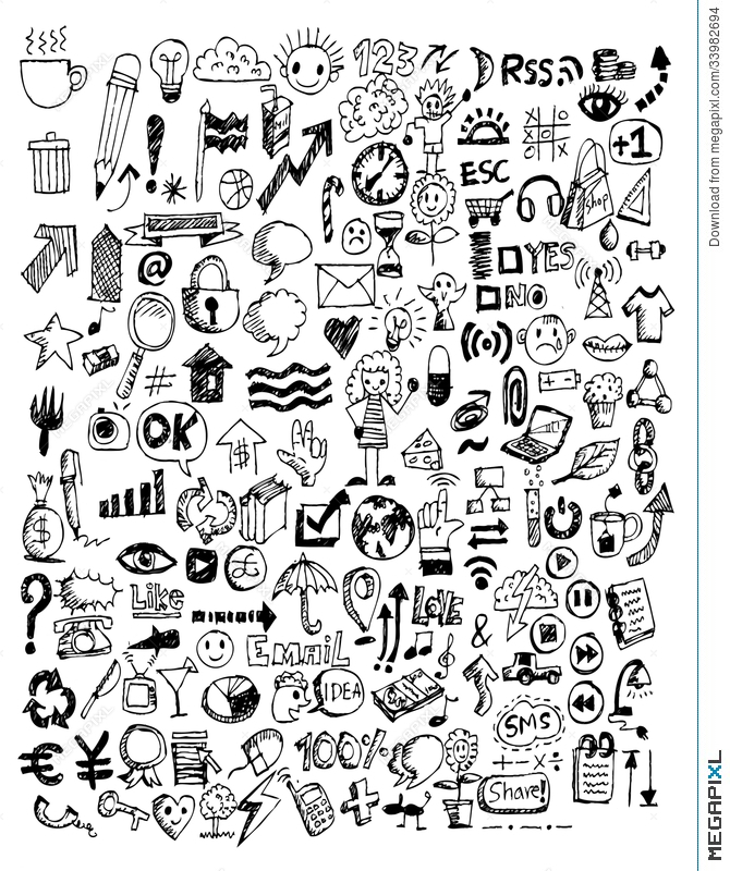 Gallery For gt Hand Doodles