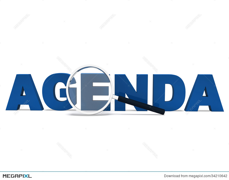 Agenda Word Means To Do Schedule Program  Agenda Word
