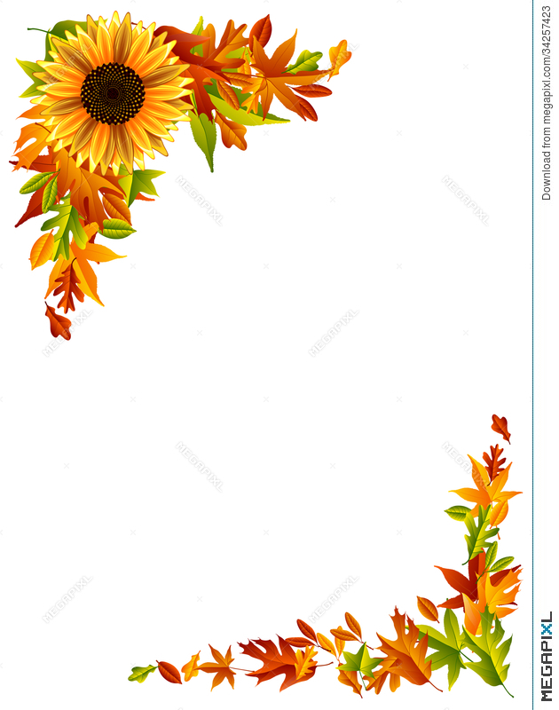 Thanksgiving Border Illustration 34257423 Megapixl Find images of thanksgiving border. thanksgiving border illustration