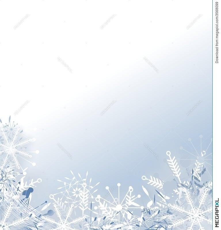 Faded Snowflake Background Illustration 3568099 Megapixl