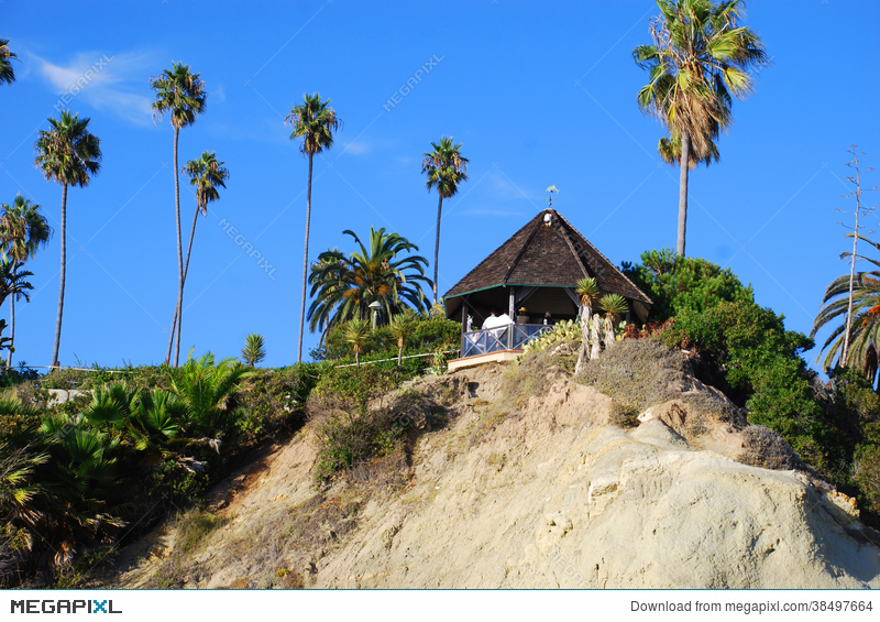 Gazebo At Heisler Park Laguna Beach California Stock Photo 38497664 Megapixl