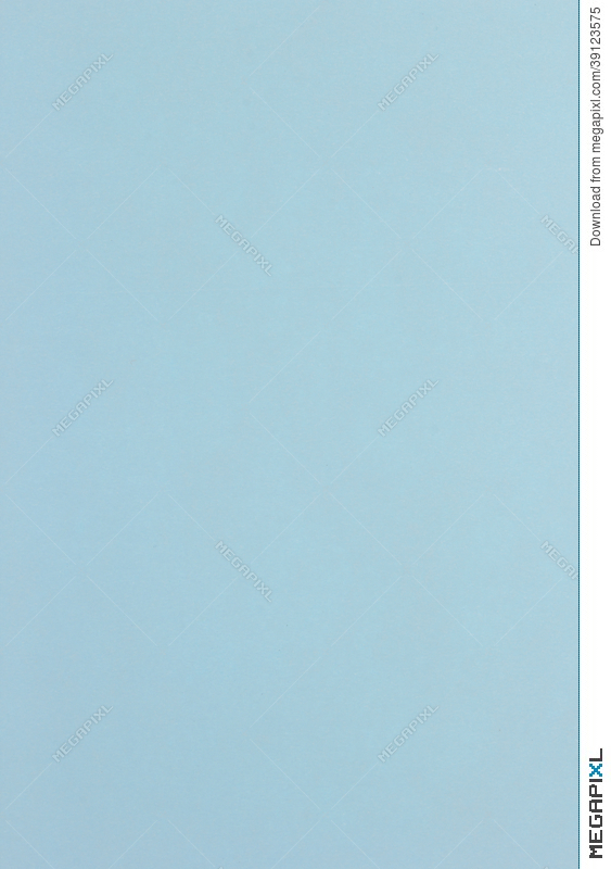 Texture, Background Of Blue Color Paper Is Blank Page Stock Photo ...