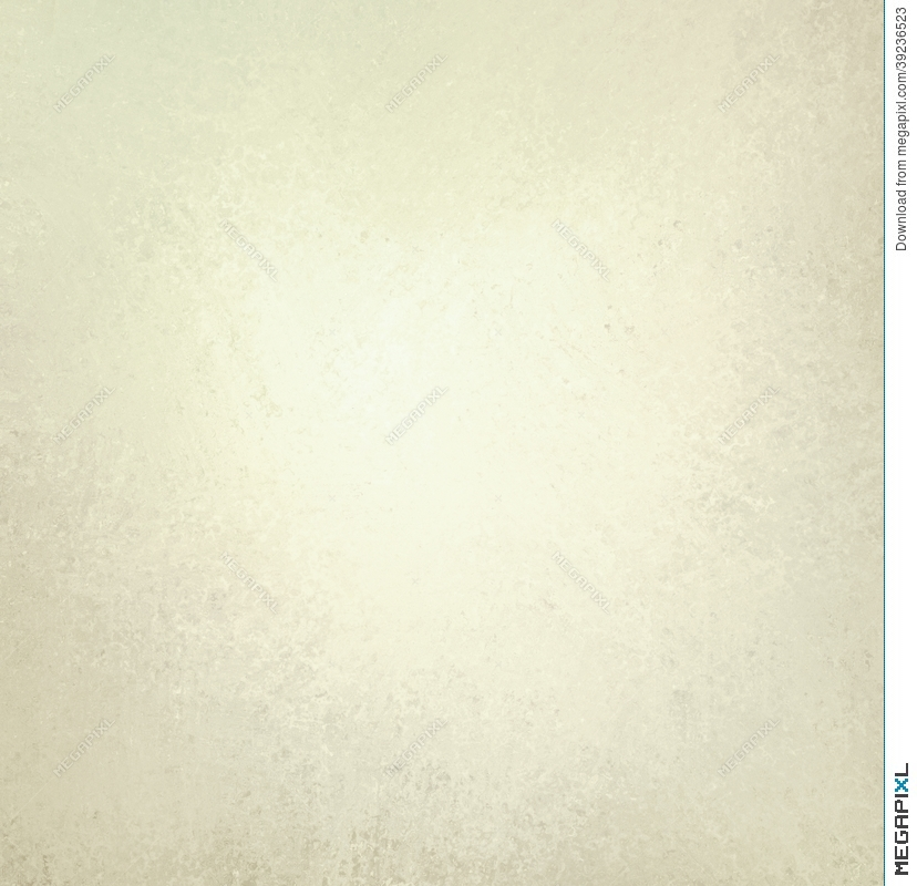 Off White Background With Faint Vintage Texture
