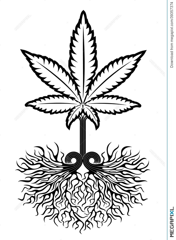 Medical Marijuana Leaf Symbol Illustration 39357374 Megapixl
