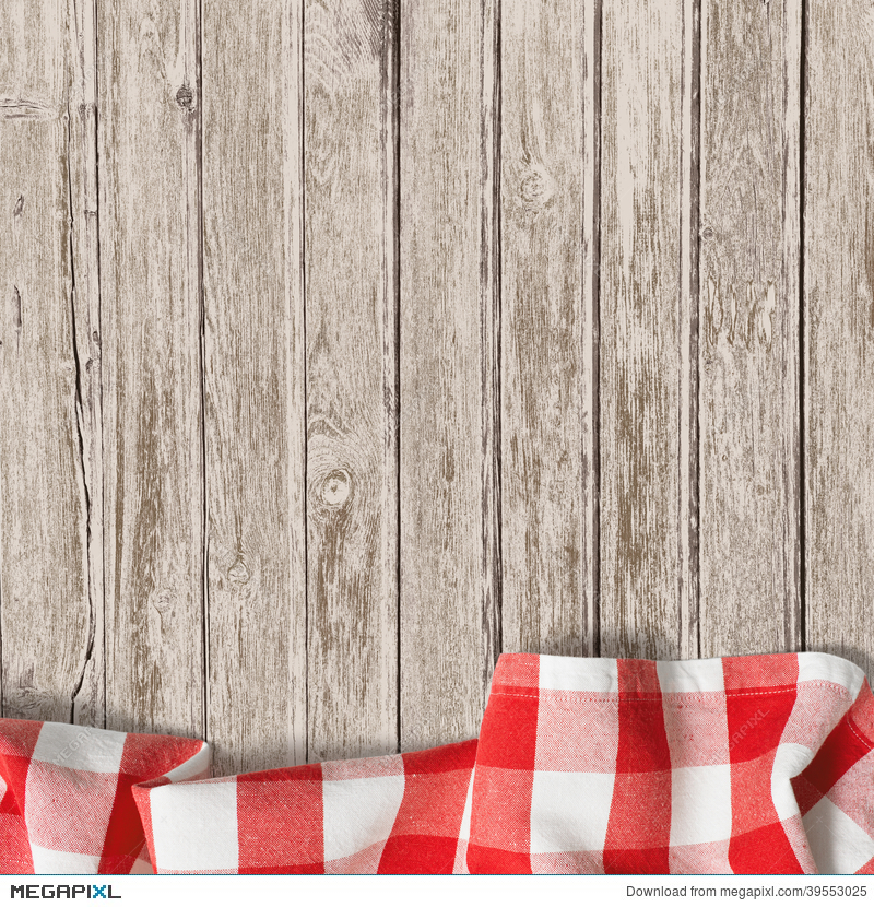 table background beach old wooden table background with picnic tablecloth wooden table background with picnic tablecloth stock photo