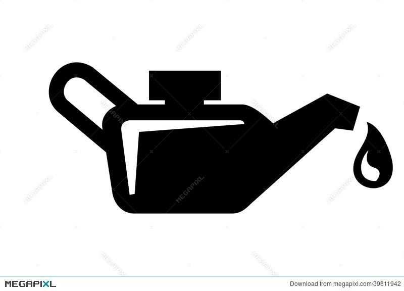 Engine Oil Icon Illustration 39811942 Megapixl