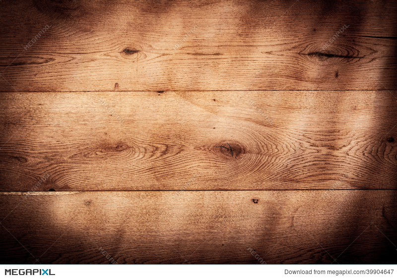 Rustic Wood Background Texture With Vignette
