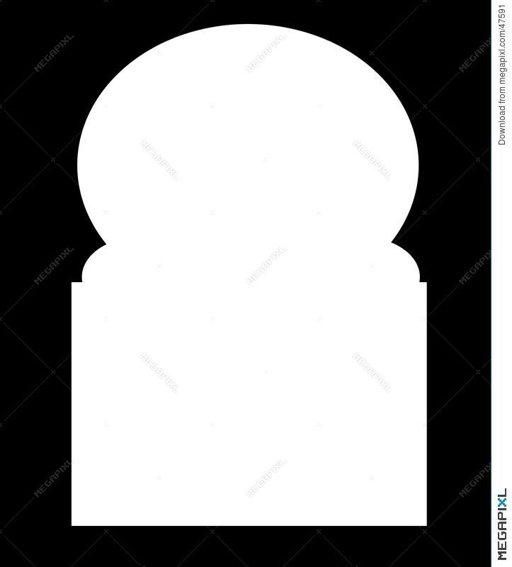 Islamic Frame Illustration 47591 - Megapixl