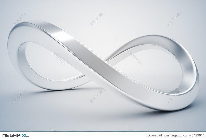 Silver Infinity Symbol Illustration 40423814 Megapixl