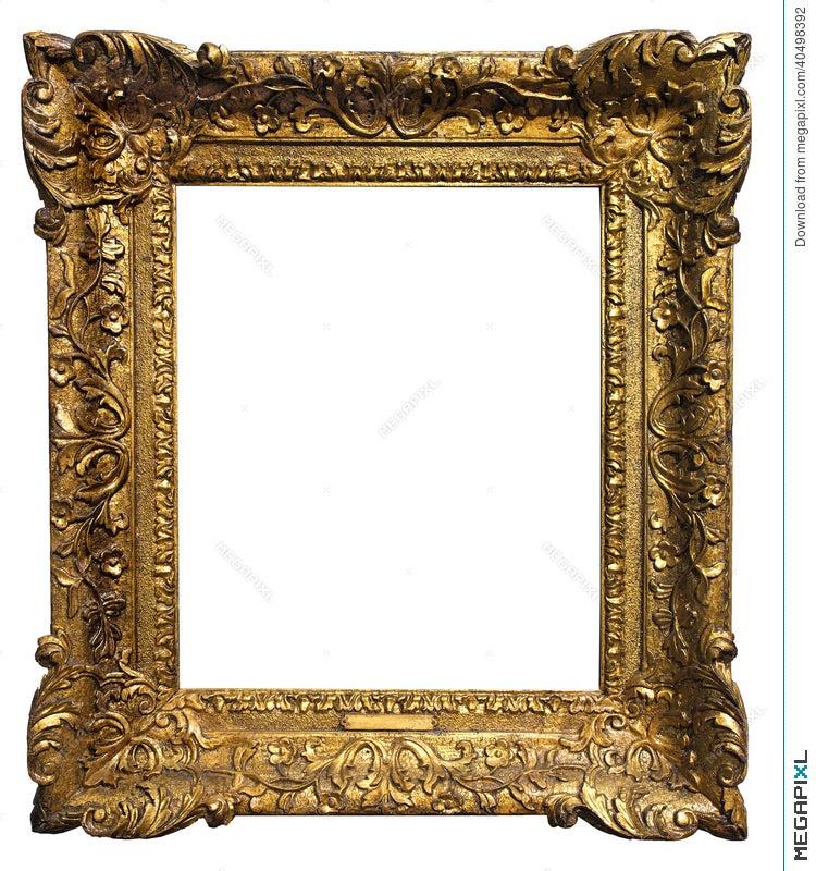 Antique Frame Stock Photo 40498392 Megapixl