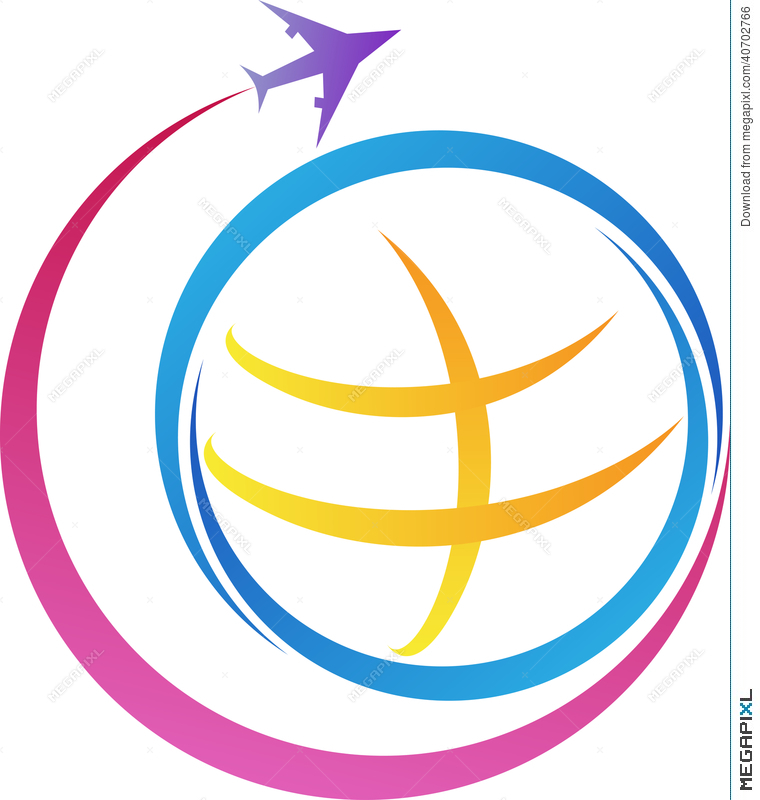 World Travel Logo Illustration 40702766