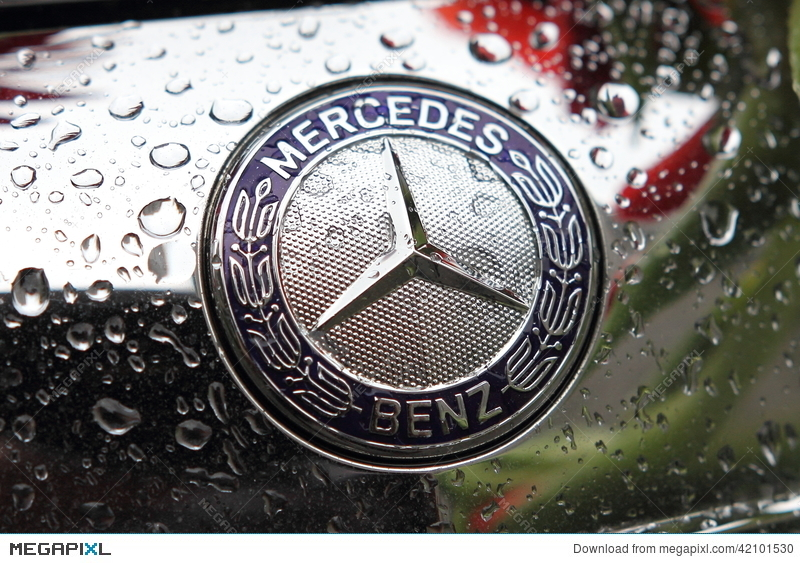Mercedes Benz Brand Logo Stock Photo 42101530 Megapixl
