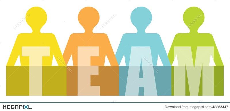 team - presentation template stock photo 42263447 - megapixl, Powerpoint templates