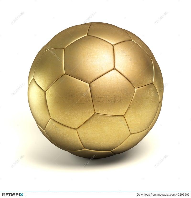334ebd8e0 Golden Soccer Ball Illustration 43298809 - Megapixl