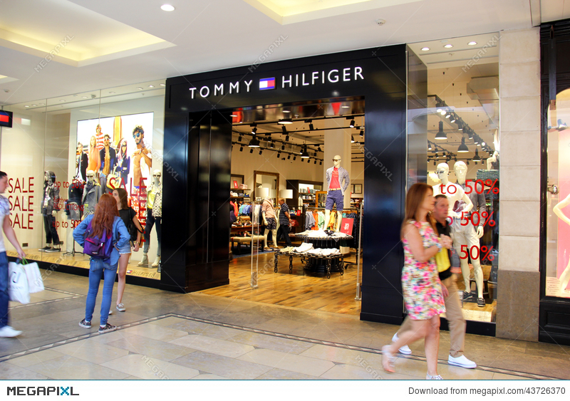 aa2a5211 Tommy Hilfiger Store Stock Photo 43726370 - Megapixl