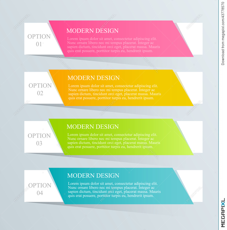 Modern Inforgraphic Template. Can Be Used For Banners, Website ...