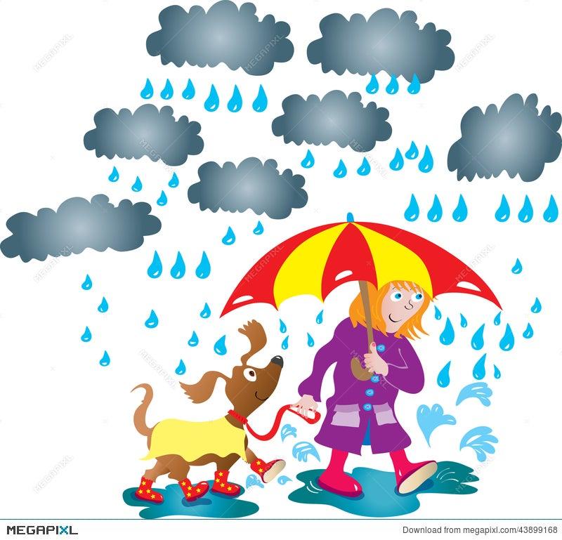 rainy day illustration 43899168 megapixl rh megapixl com rainy day clipart png rainy day clothes clipart