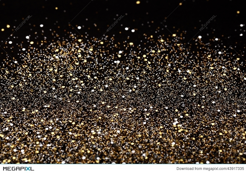 christmas new year black and gold glitter background holiday abstract texture fabric