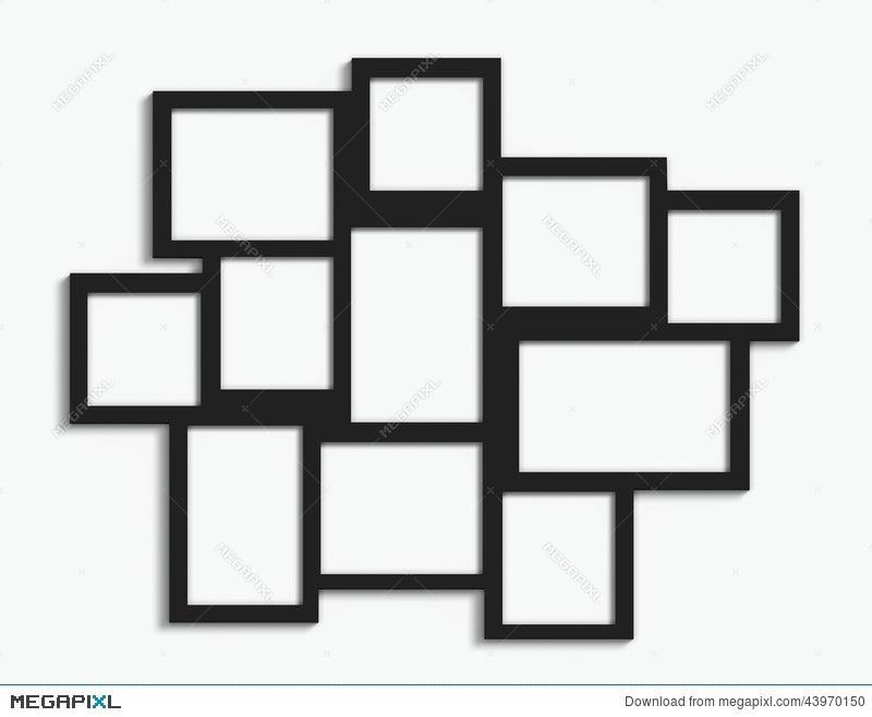 Multiple Frames Stock Photo 43970150 - Megapixl