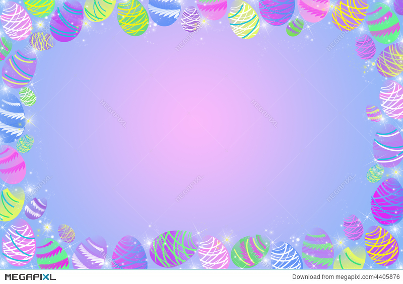 Easter Egg Hunt Illustration 4405876