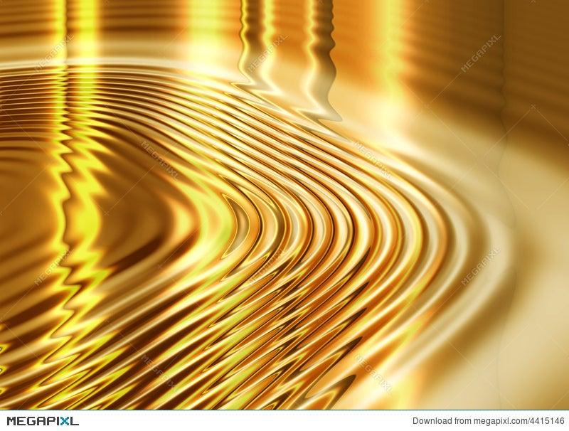 Liquid Gold Background Illustration 4415146 Megapixl