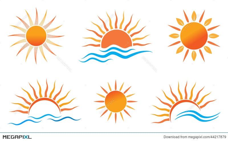 sun logo illustration 44217879 megapixl rh megapixl com sun logistics inc sun logos images