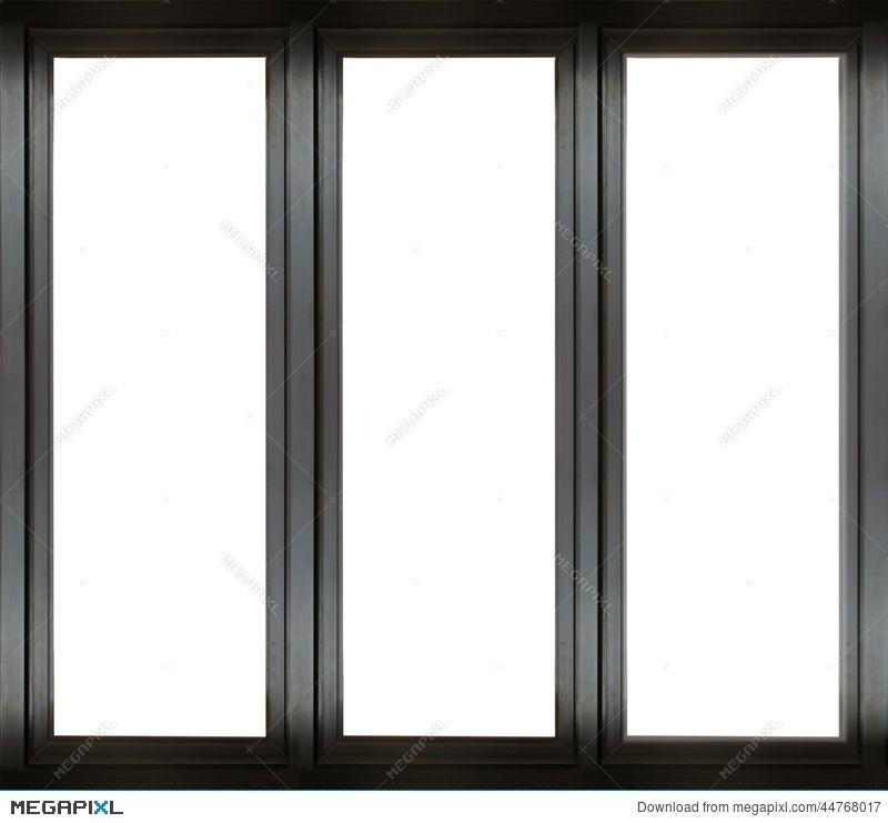 Black Metal Window Frame Stock Photo 44768017 - Megapixl
