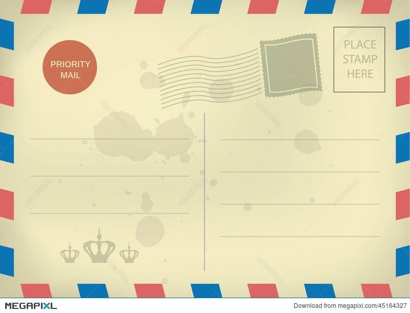 free postcard templates download