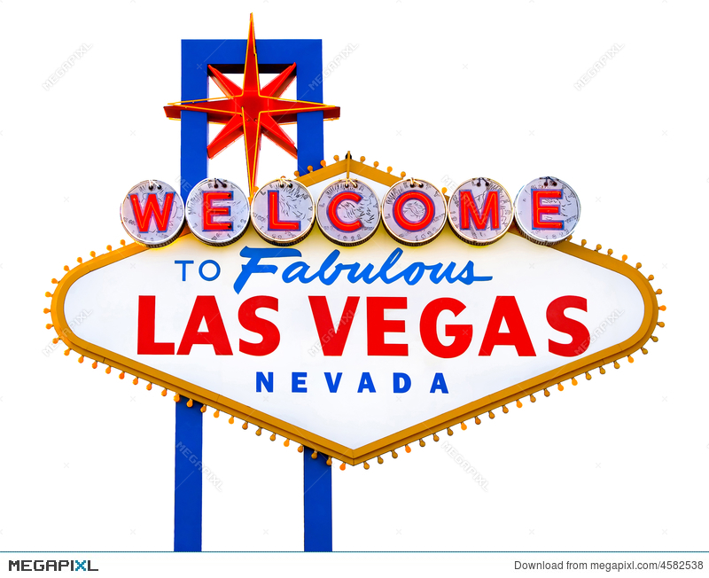 Welcome To Fabulous Las Vegas Stock Photo 4582538 - Megapixl