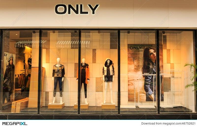6d783ec5d9a Boutique Shop Store Window Stock Photo 46752621 - Megapixl