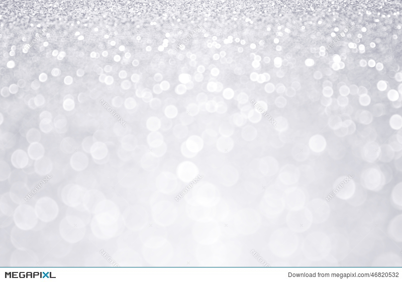 Silver Glitter Winter Christmas Background Stock Photo 46820532 ...