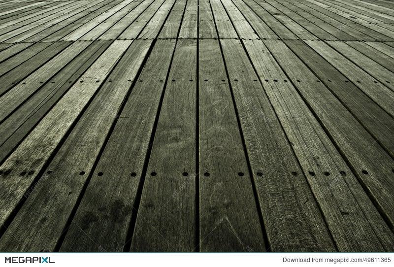 Old Barn Wood Floor Background Texture