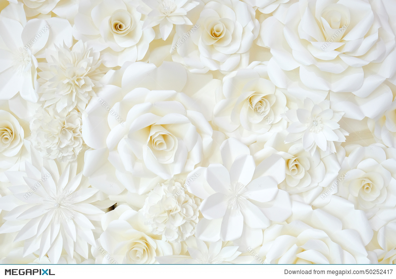 Background of paper folding flower stock photo 50252417 megapixl background of paper folding flower mightylinksfo