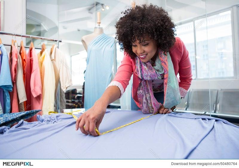 female fashion designer at work stock photo 50480764 megapixlfemale fashion designer at work