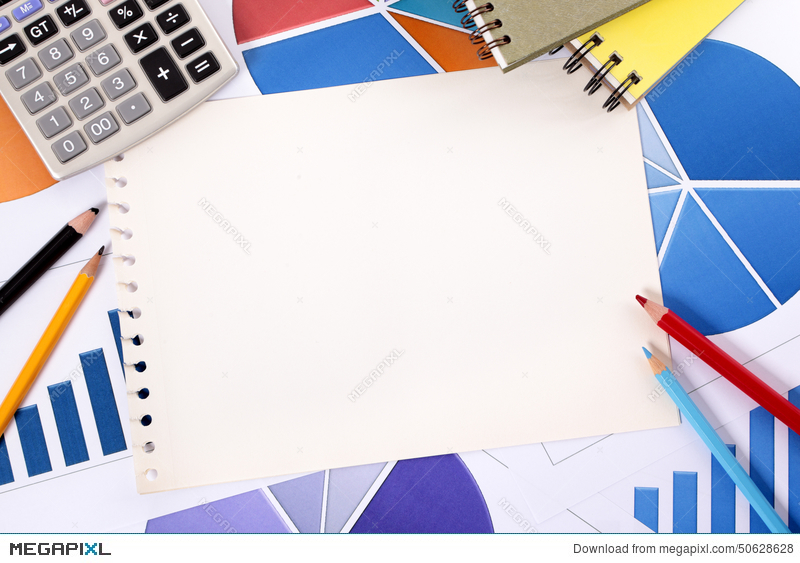 Financial Accounting Background Copy Space Stock Photo 50628628 - Megapixl