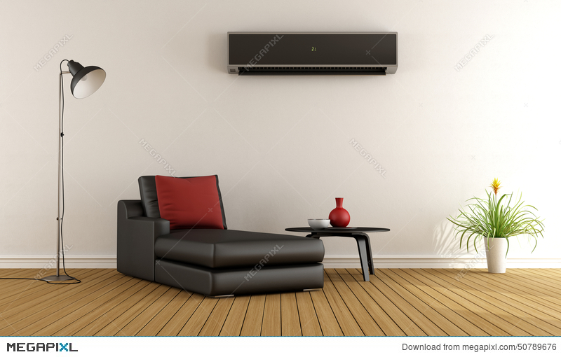 Superieur Living Room With Air Conditioner