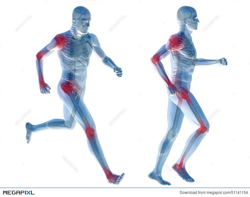 3D Human Man Pain Anatomy Isolated Illustration 51141154 - Megapixl