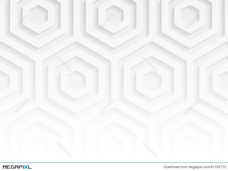 White Paper Geometric Pattern Abstract Background Template For