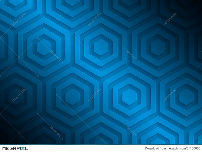 Blue Paper Pattern Abstract Background Template For Website