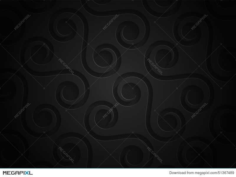 Black Paper Geometric Pattern Abstract Background Template For