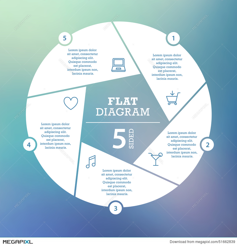 Business concept circle puzzle infographic template for cycle circle puzzle infographic template for cycle diagram graph presentation and ccuart Choice Image