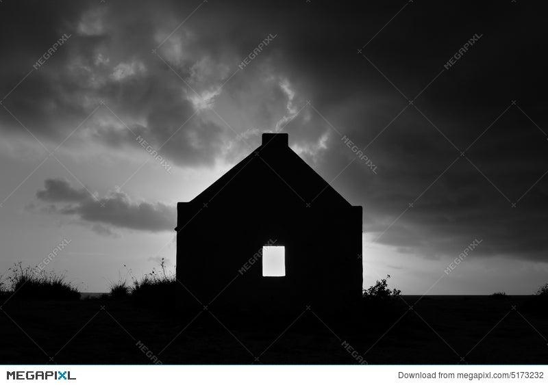 silhouette of slave hut stock photo 5173232 megapixl