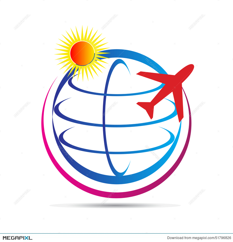 World Travel Logo Illustration 51796826
