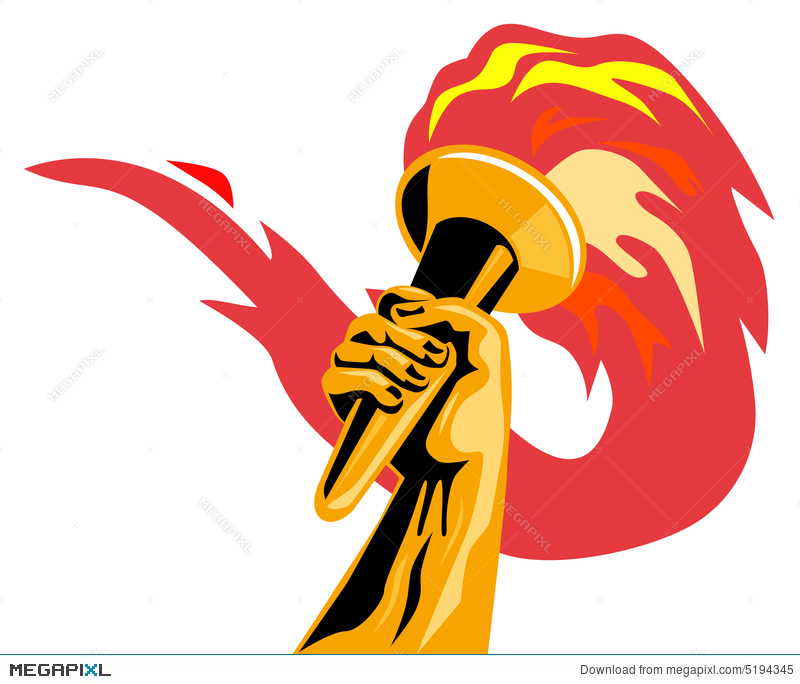 Olympic Flame Illustration 5194345
