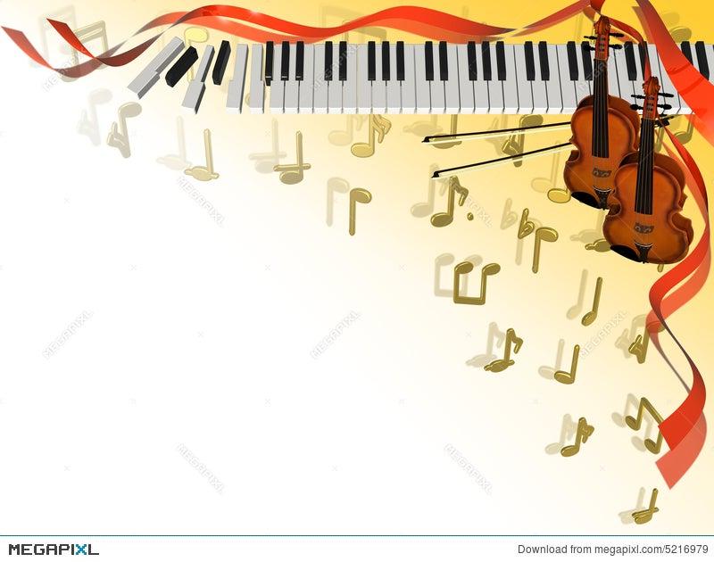 Music Corner Frame Illustration 5216979 - Megapixl