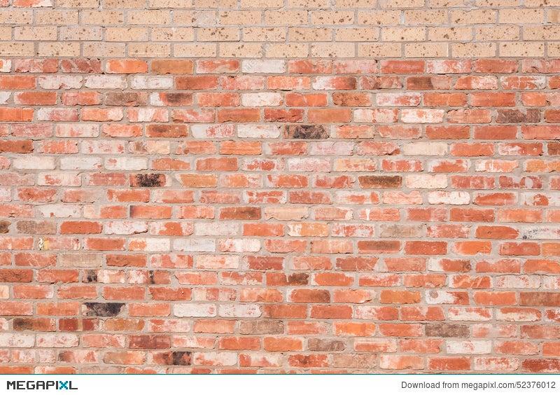 New Bricks On Old Brick Wall