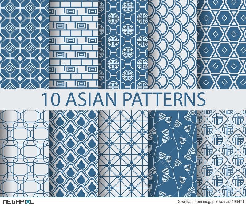 Asian Patterns Illustration 60 Megapixl Fascinating Asian Patterns